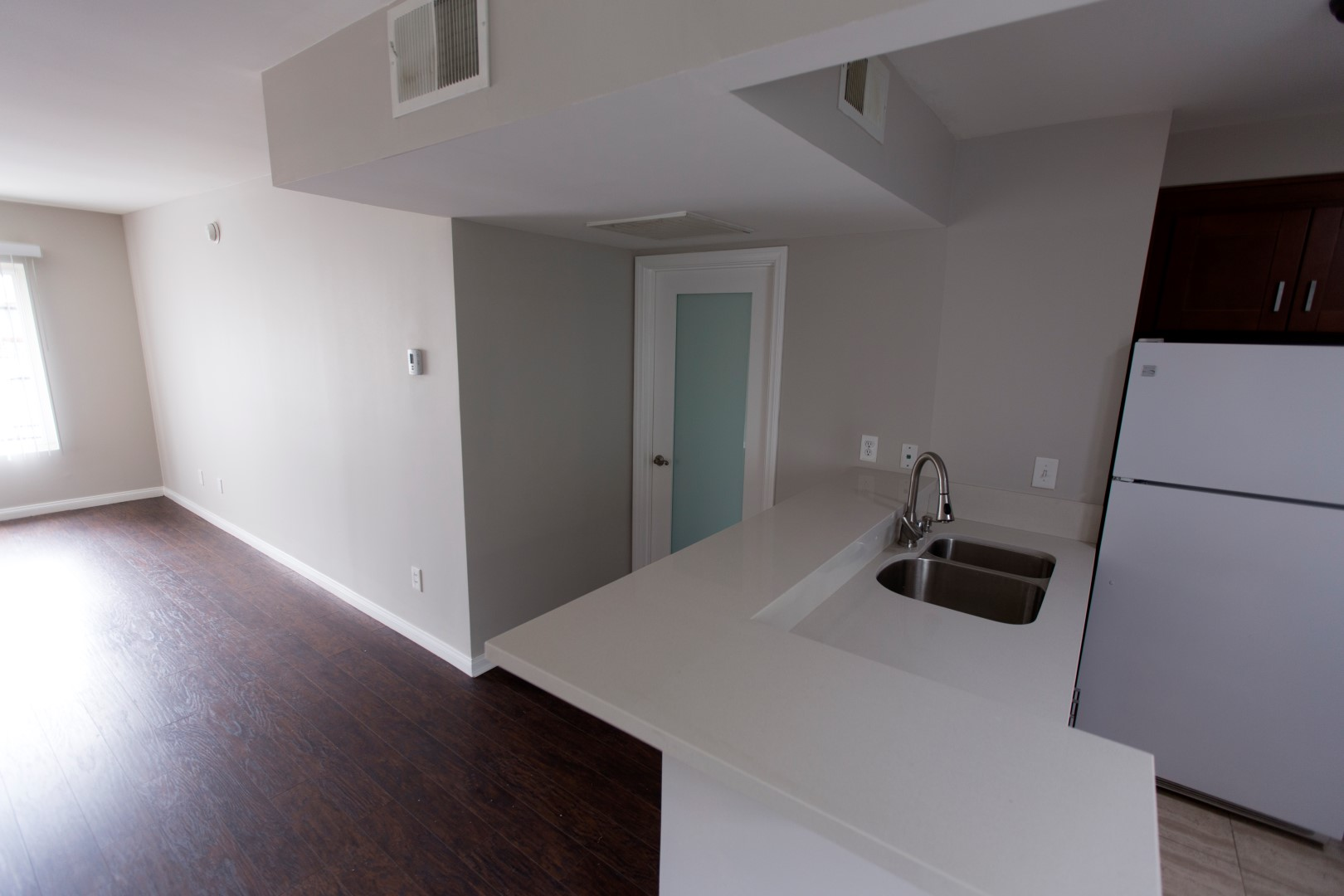 •      Semi furnished stove, microwave, fridge, washer, and dryer.  •	Newly remodeled.  •	Wooden floors.  •	Small Pets are okay.  •	Neighbors are professionals.  •	Gated with remote control.  •	high-speed internet access and smoke-free options.